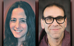 Dena Croog, left, and Stuart Katz