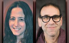 Dena Croog, left, and Stuart Katz