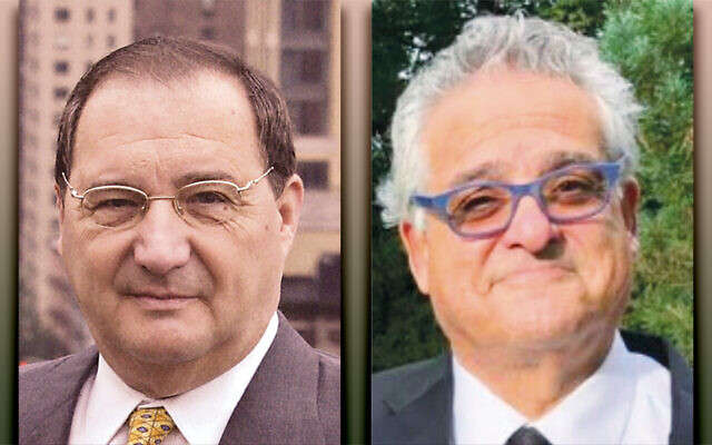 Abe Foxman, left, and Steve Gold