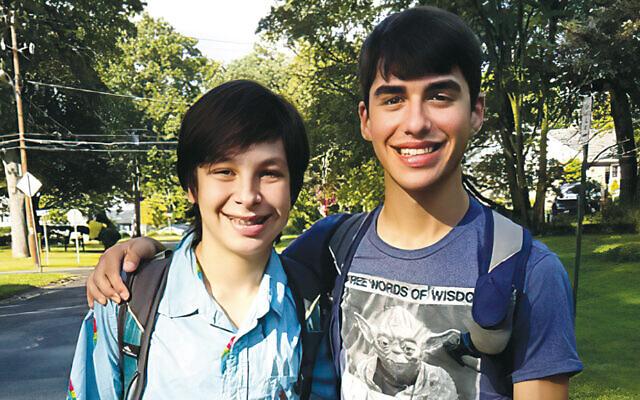 Brothers Braden and Thomas Czerwinski.