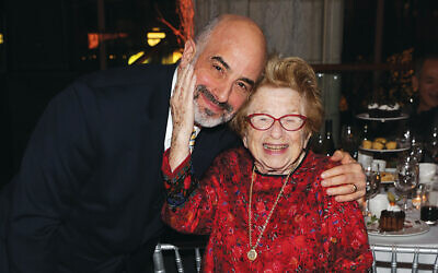 Dr. Ruth K. Westheimer and Doron Krakow
