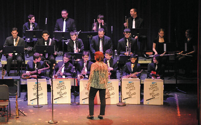 Teen Town Jazz Big Band