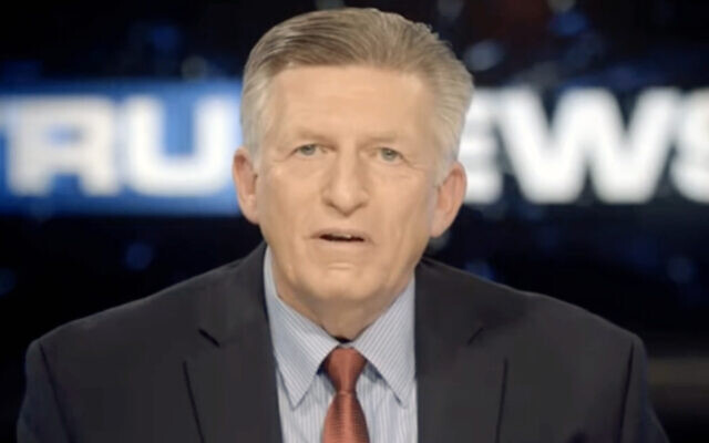 Rick Wiles, a Florida pastor known for his anti-Semitic conspiracy theories, is the founder of TruNews. (Screenshot from Vimeo)