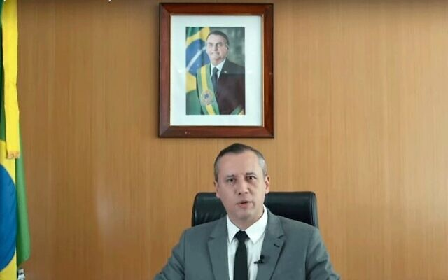 """Brazilian Culture Minister Roberto Alvim was fired for using excerpts of a speech by Nazi propoganda mastermind Joseph Goebbels, which he later called a """"rhetorical coincidence."""" (Ministry of Culture)"""