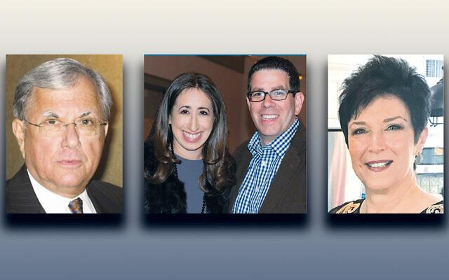 Ed Ruzinsky, left, Renee and Brian Friedman, and Margie Shore (Photos courtesy TEPV)