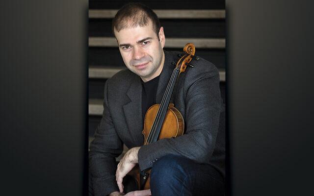 Violinist Grigory Kalinovsky (Courtesy JCCOTP)