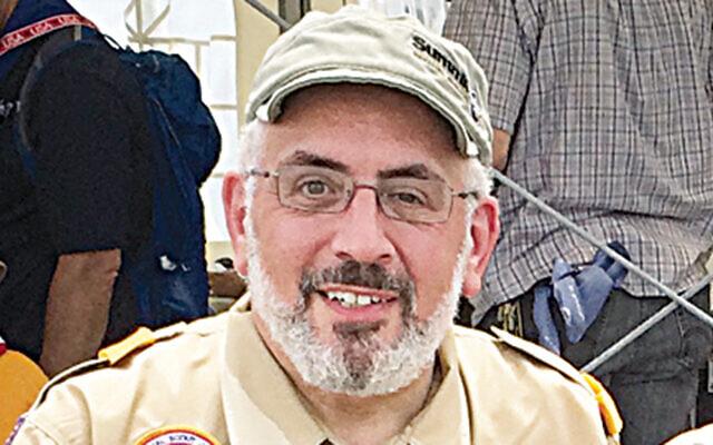 Rabbi Joseph Prouser at the International Jamboree in Japan