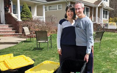 Gabrielle and Daniel Altman