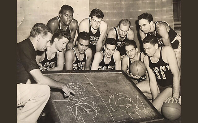 In the 1940s and on into 1950, City College featured an all-Jewish and African-American roster. (Larry Gralla)