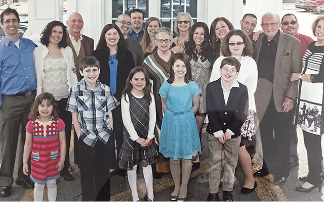 The family gathered to celebrate Eddie Dresher's 99th birthday, seven years ago.