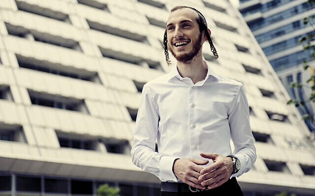 Shulem Lemmer is a pop star in his community — and he's still a cantor, too. (Meredith Truax)