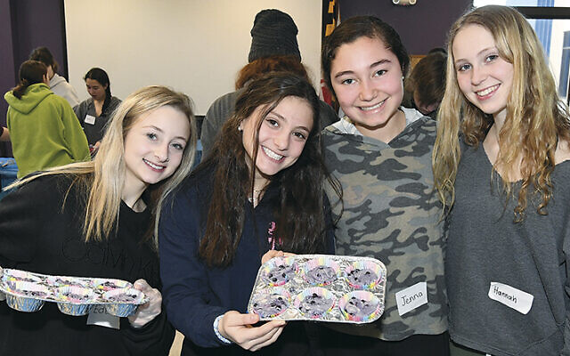 With teenagers unable to participate in in-person get-togethers, like this pre-pandemic event organized by 4Front Baltimore, a Jewish teen engagement initiative, Jewish groups are making extra efforts to reach out and engage with Jewish teens. (Courtesy of JCC Baltimore)