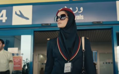 """Niv Sultan appears in the trailer for """"Tehran."""" (Screenshot from YouTube)"""