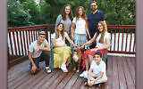 Gila Guzman and her family with Dustin,  who was adopted from Mutt Mafia Dog Rescue. (Photos by Lyn Ofrane)