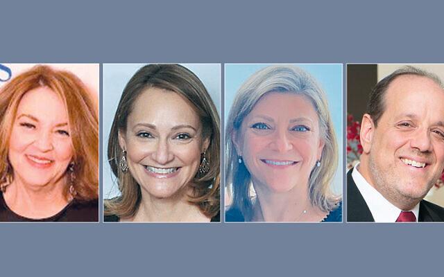 Susan Greenbaum, Debbie Harris, Rachel Scheff, Dr. Joey Silverman (Photos courtesy JFCS)