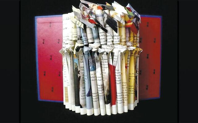 "Irmari Nacht's book, ""Books134CoronaDream"" (Courtesy of the artist)"