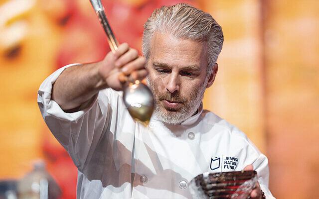 Spice chef Lior Lev Sercarz (Courtesy JNF)