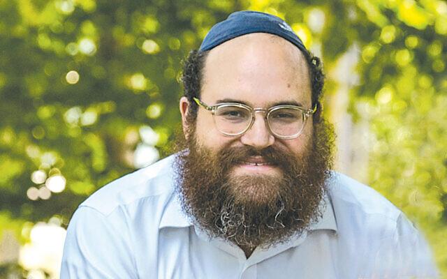 Rabbi Yosef Orenstein (Courtesy Chabad)