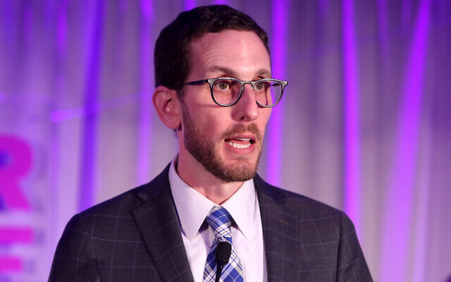 California State Sen. Scott Wiener said his Jewish identity has made him a target before, and he pointed to President Trump's leadership as a factor. (Randy Shropshire/Getty Images)