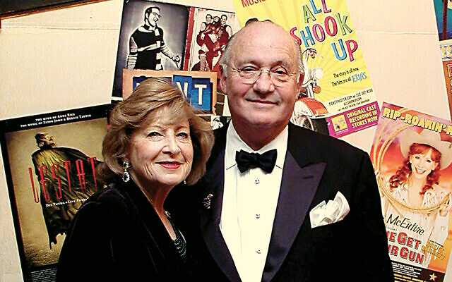 Lynne and Charles Klatskin are at the Jewish Home Family's gala in 2006.