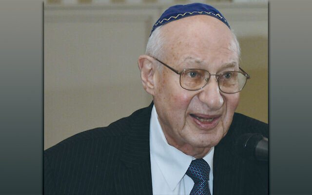 Rabbi Israel Dresner (Courtesy TBT)