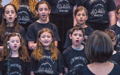 Last year, Cantor Ronit Wolff Hanan led Tziporei Shalom. Some of the children will sing as part of the Folksbiene's Chanukah gala.