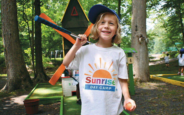 Prepandemic, this day camper had a happy summer at the Sunrise camp in Pearl River. (Sunrise  Association)