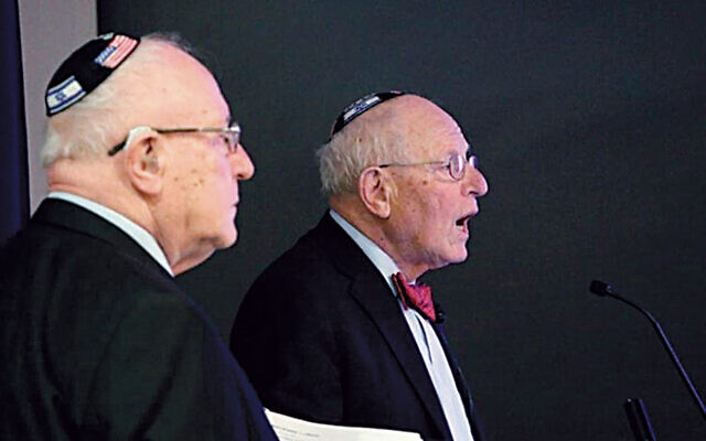 The Schanzer brothers (Courtesy SSDS)