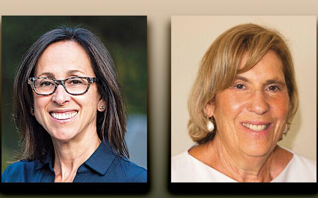 Terri Friedman, left, and Joyce Goldstein