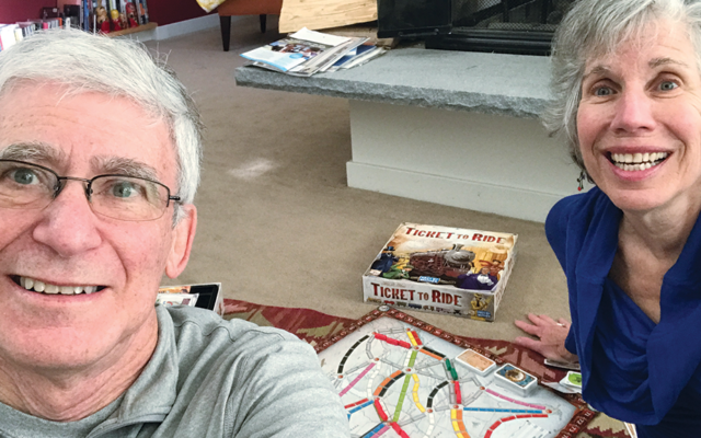 Andy and Merrill Silver spent some pandemic time remembering and reliving past joys.