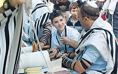 Despite everything, Itai Rimmel became bar mitzvah.