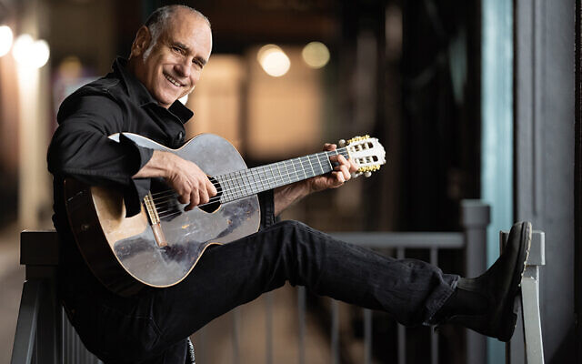David Broza brings Israeli, Spanish, and Cresskill influences to his not-quite-holiday concert