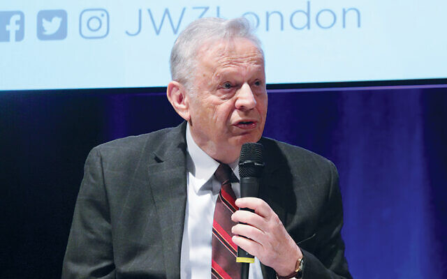 In London last January, Dr. Mordecai Paldiel speaks about the Polish government in exile's role in rescuing Jews during the Holocaust.