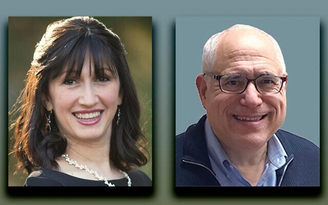 Rachel Feldman, left, and Dr. Howie Friedman