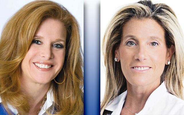 Rachel Braun Scherl, left, and Dr. Alyssa Dweck