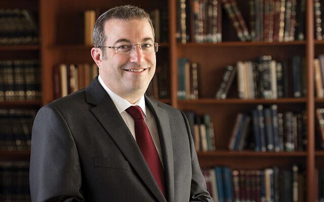 Rabbi Dr. Ari Berman is the president of Yeshiva University.