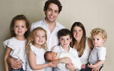 The Rich family: from left, Kayla, Lily, Michael, Jacob holding Landon, Stephanie and Connor. (Stefanie Diamond)