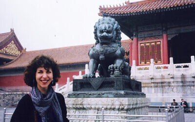 Robyn Helzner in Beijing (Courtesy JHMOMC)