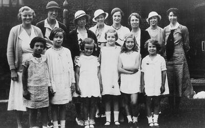 You did it! A picture of the graduation of the first class at the Elisabeth Morrow School in 1933.