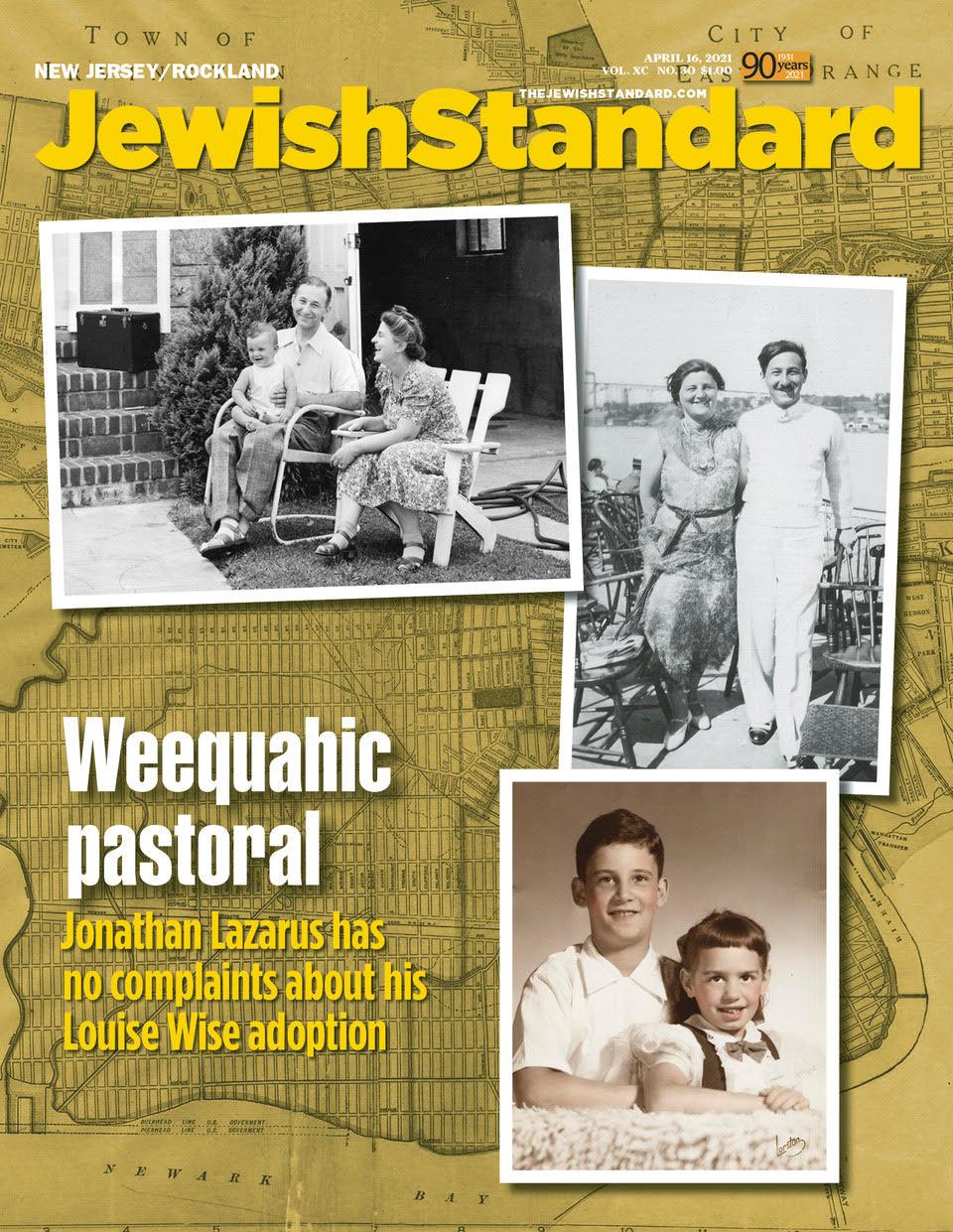 Jewish Standard, April 16, 2021