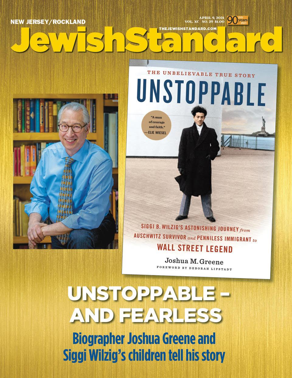 Jewish Standard, April 9, 2021