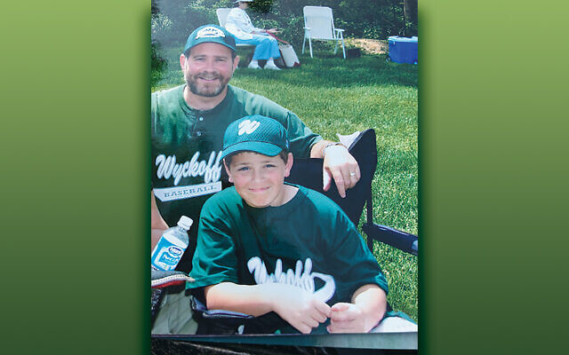The author's husband, Jay and son, Rob.