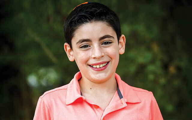 Micky Cyrulnik won the Hebrew 6-7 division of the National Bible Quiz.