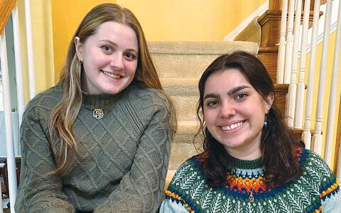 Sisters Emma and Quinn Joy