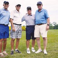 Mark Ticotin, John Page, Ron Aroesty, and Robert Gerstein