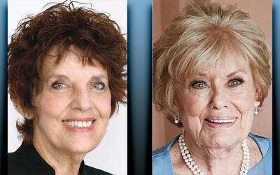 """Charlotte Bennett Schoen, left, and Nanette """"Nan"""" Matlick Members"""