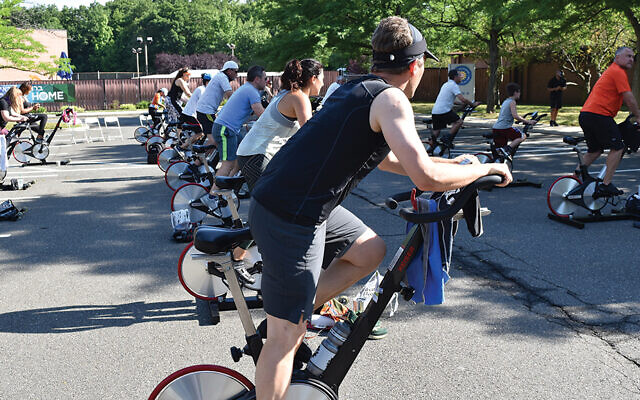 From last year's JCC on the Palisades' Ride for the Living (Courtesy JCCOTP)