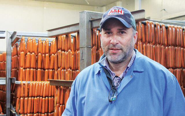 Seth Leavitt in his A&H factory in Hillside.