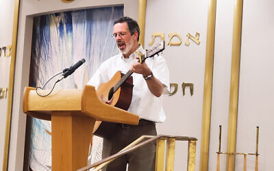 Barry Kanarek was the cantor at the Nanuet Hebrew Center; now, he's at Shir Shalom.