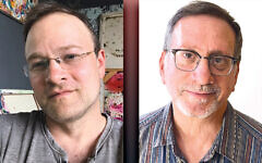 David Friedman, left, and David Wander